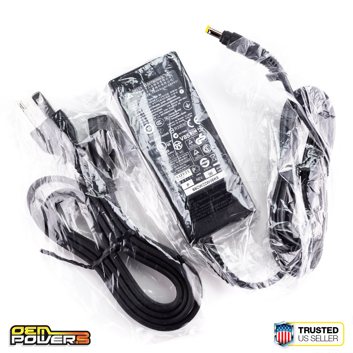 New Original OEM HP Thin Flexible Client Power Supply 688945-001 587303-001 65W