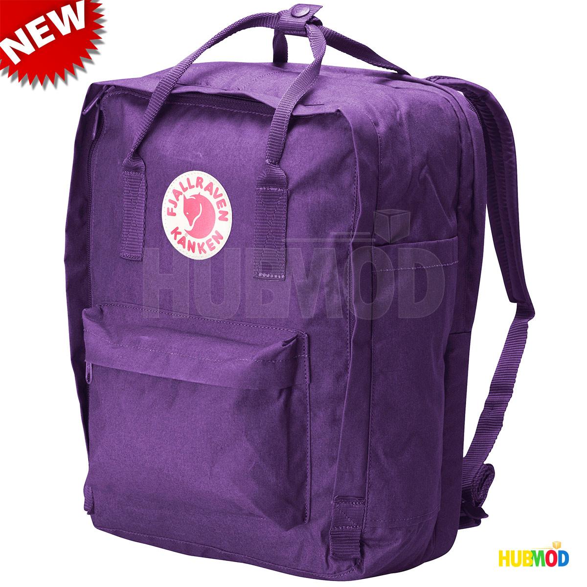20e91066ba5 Details about Fjallraven Kanken 13-Inch Laptop Bag Backpack  (27171 Purple 2012 Model) 50% OFF