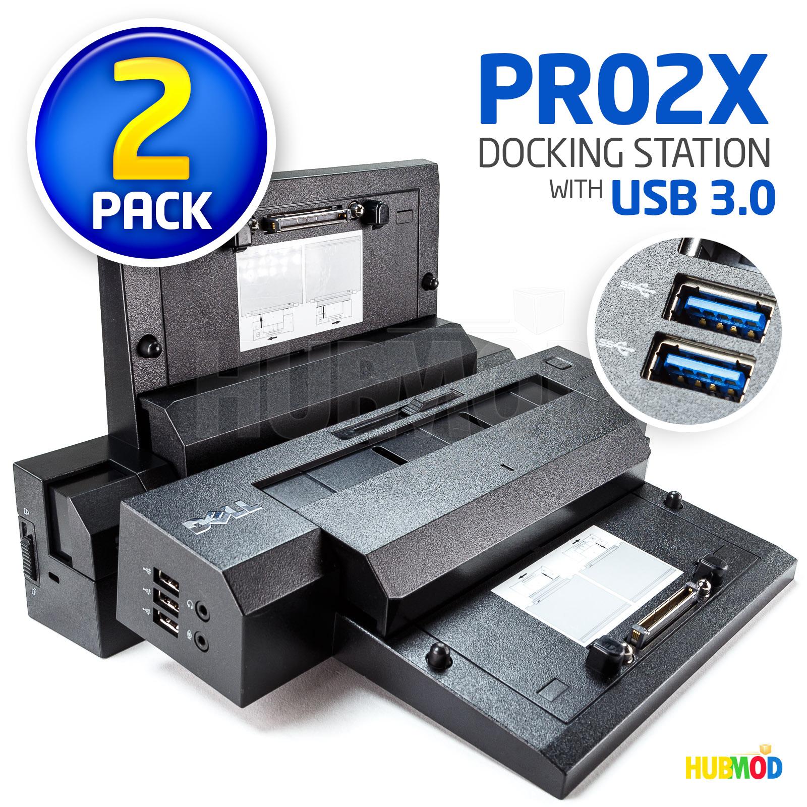 Dell PR02X Advanced E-Port Plus II Port Replicator USB 3.0 Docking Station ONLY
