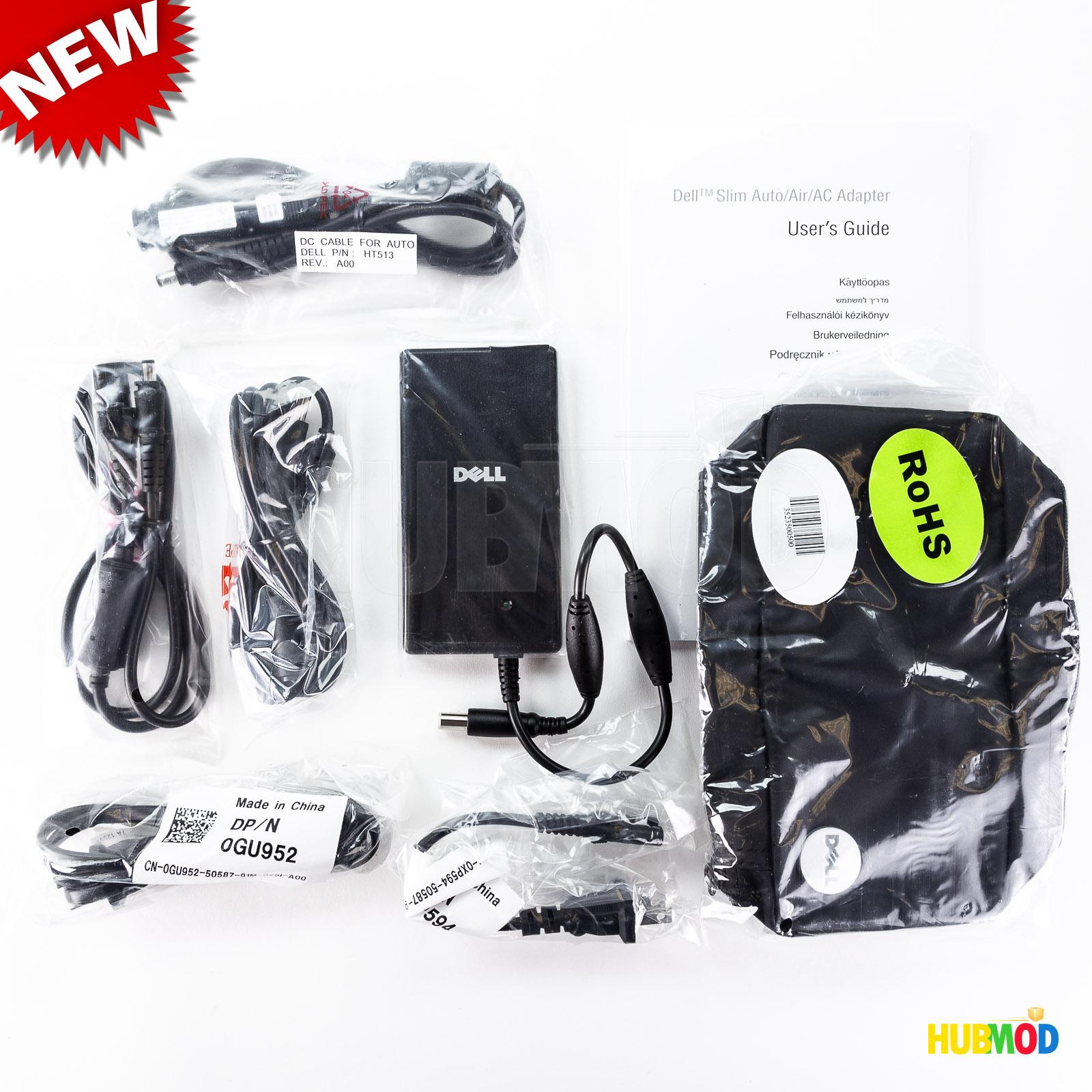NEW GENUINE DELL PA 12 65W Slim Auto Air AC Adapter 0UT101 Model DA65NS3 00
