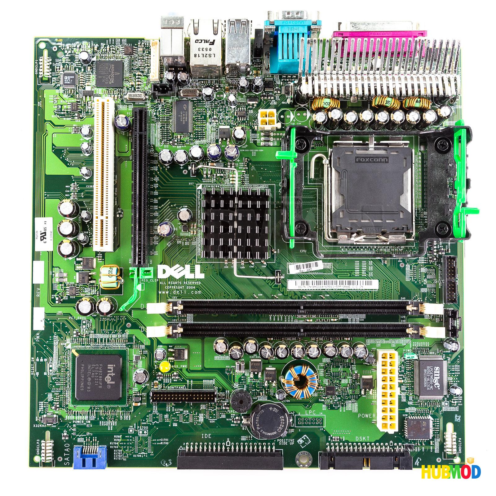 Dell Optiplex GX280 SFF Motherboard FG113 C6206 DG403 D4553 H8164 CG817  D7726