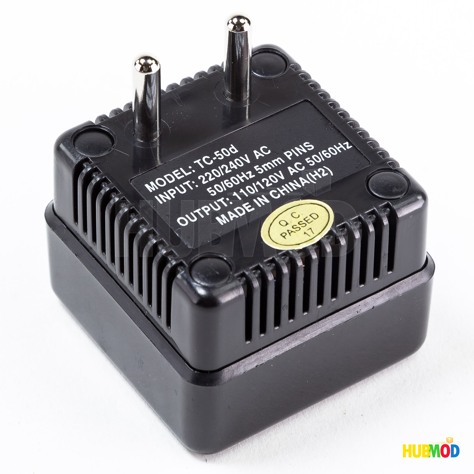 110//120V to 220//240V PHC TC-55U Deluxe Step-Up Voltage Converter 55 Watts