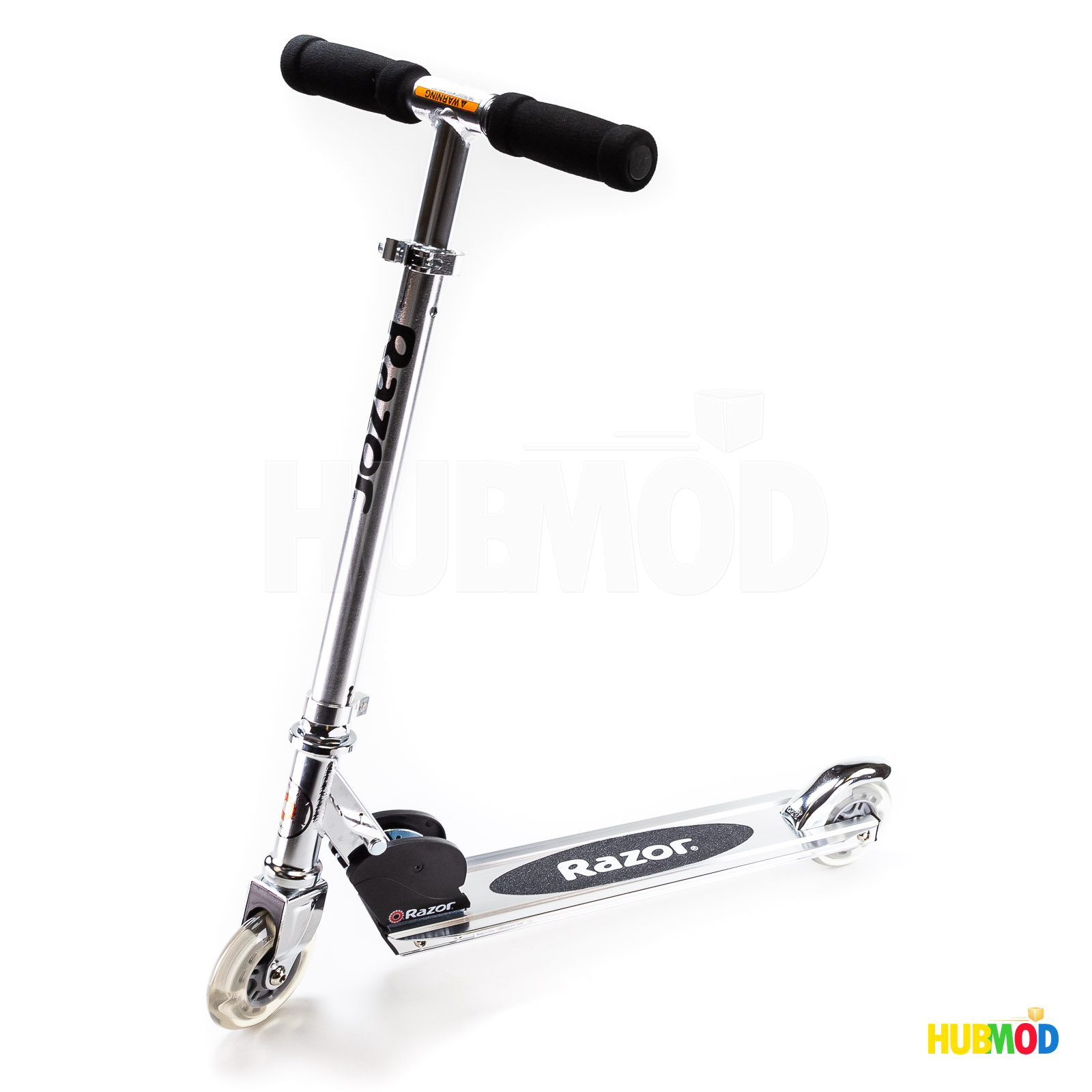 Razor Wheel Kick Scooter A Light Up Black Open Box New With Dent