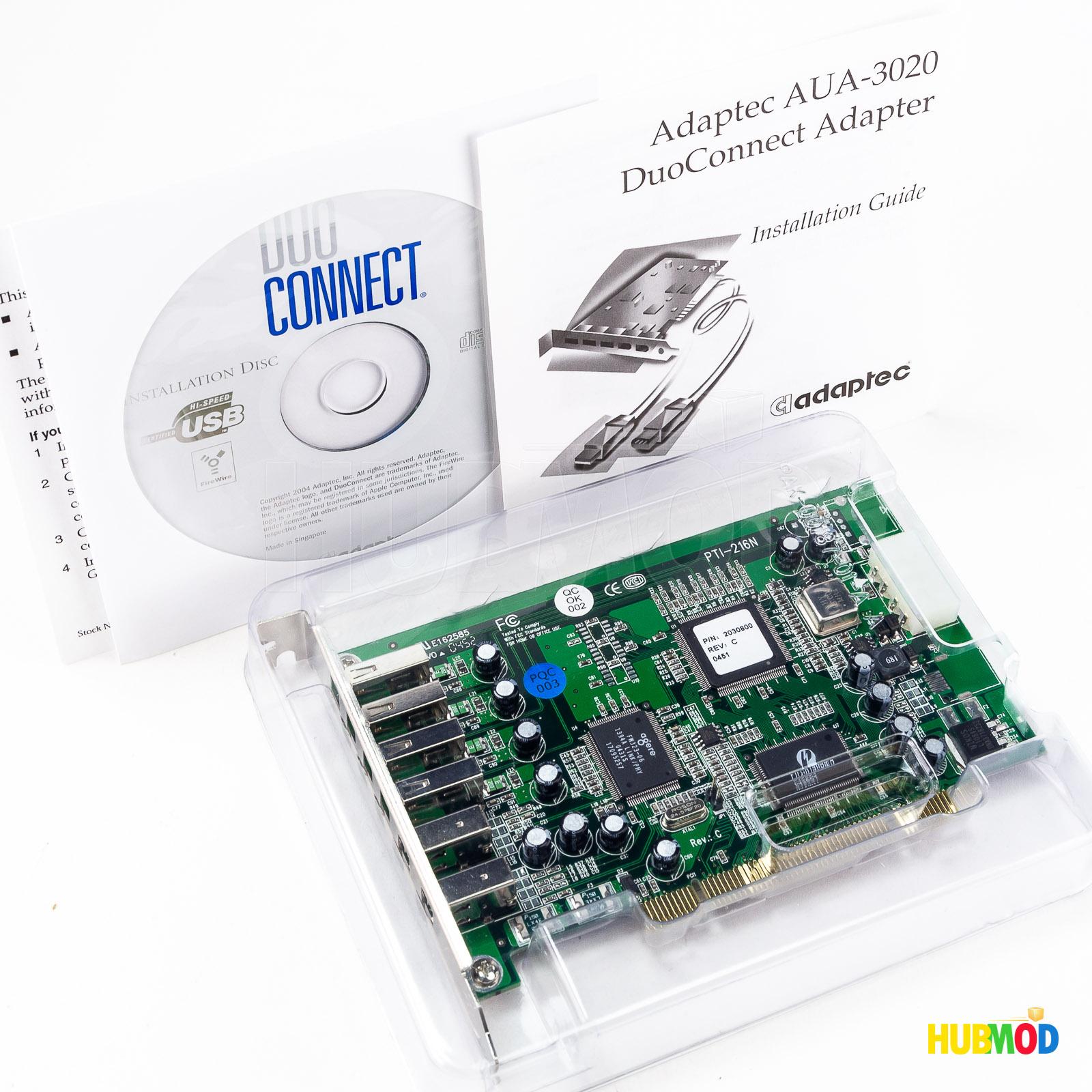 Adaptec AUA-2000B USB2 Connect Adapter *NEW*