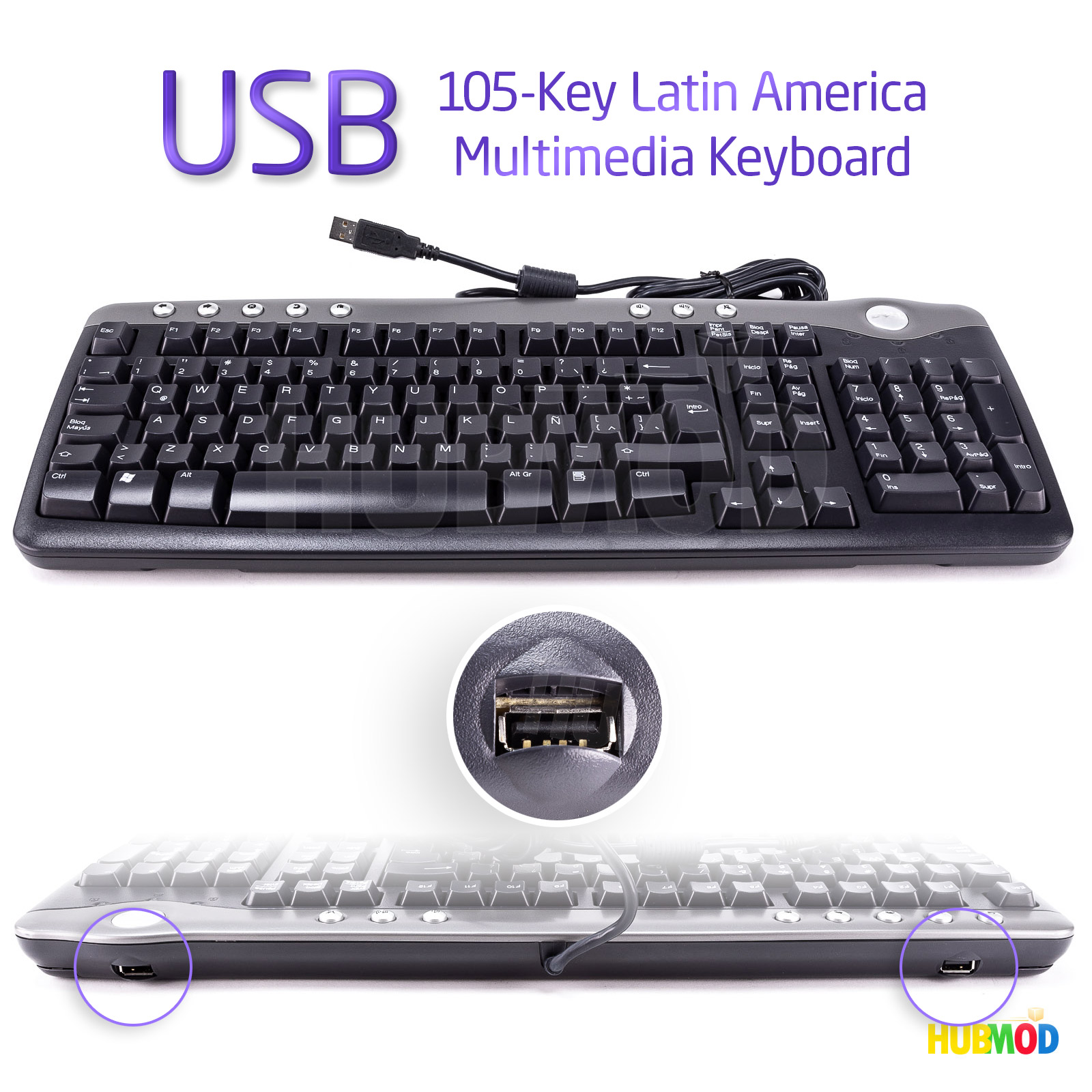MicroSpareparts Keyboard Dutch