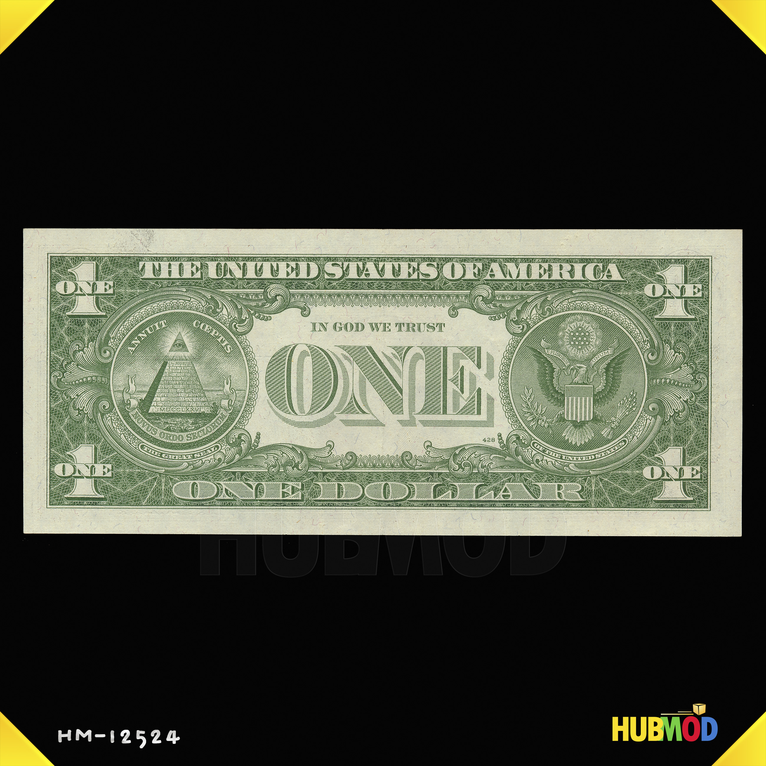 1957 A Series $1 One Dollar Silver Certificate US Note