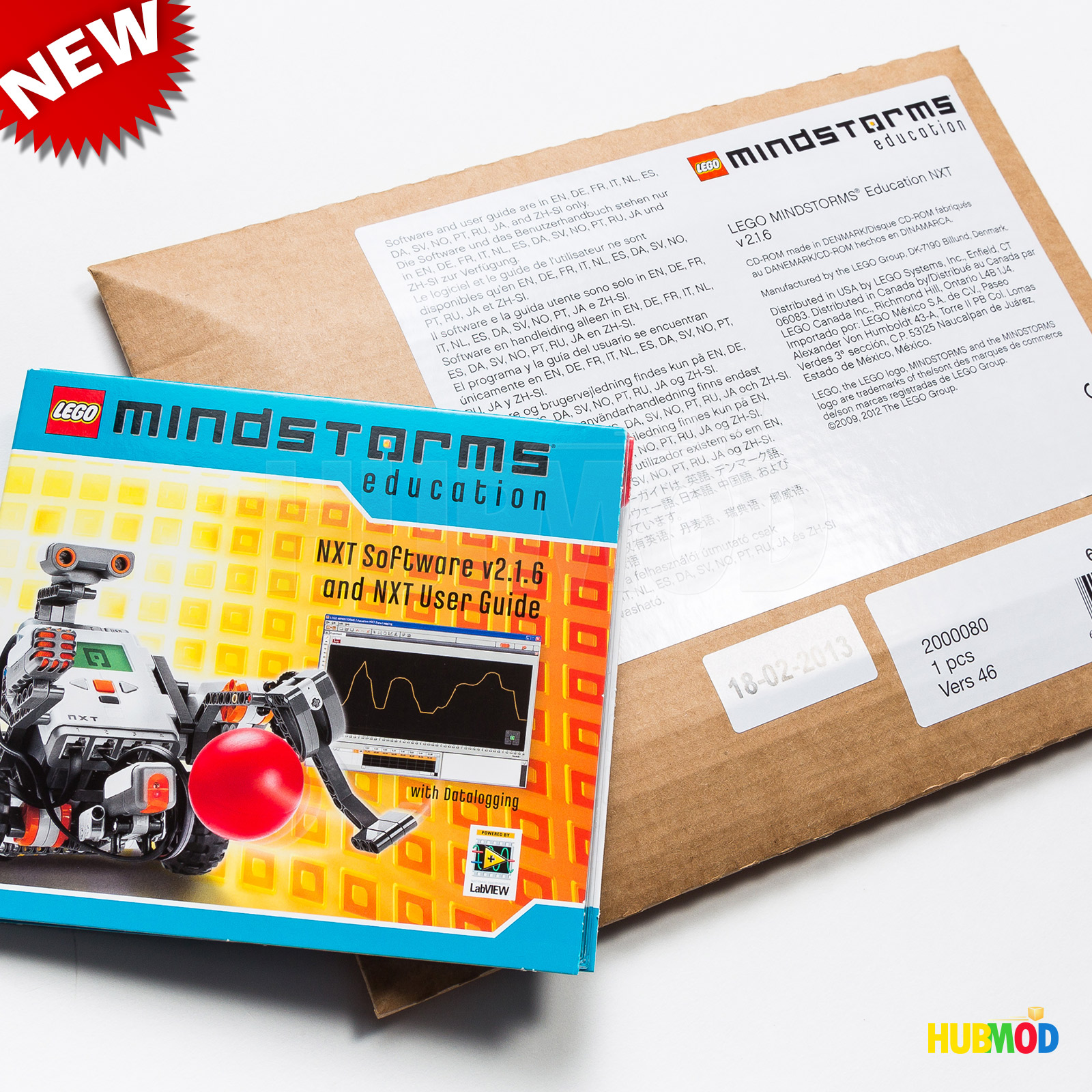 Details about NEW LEGO MINDSTORMS Education NXT Software 2 1 6 User Guide  2000080 6029807
