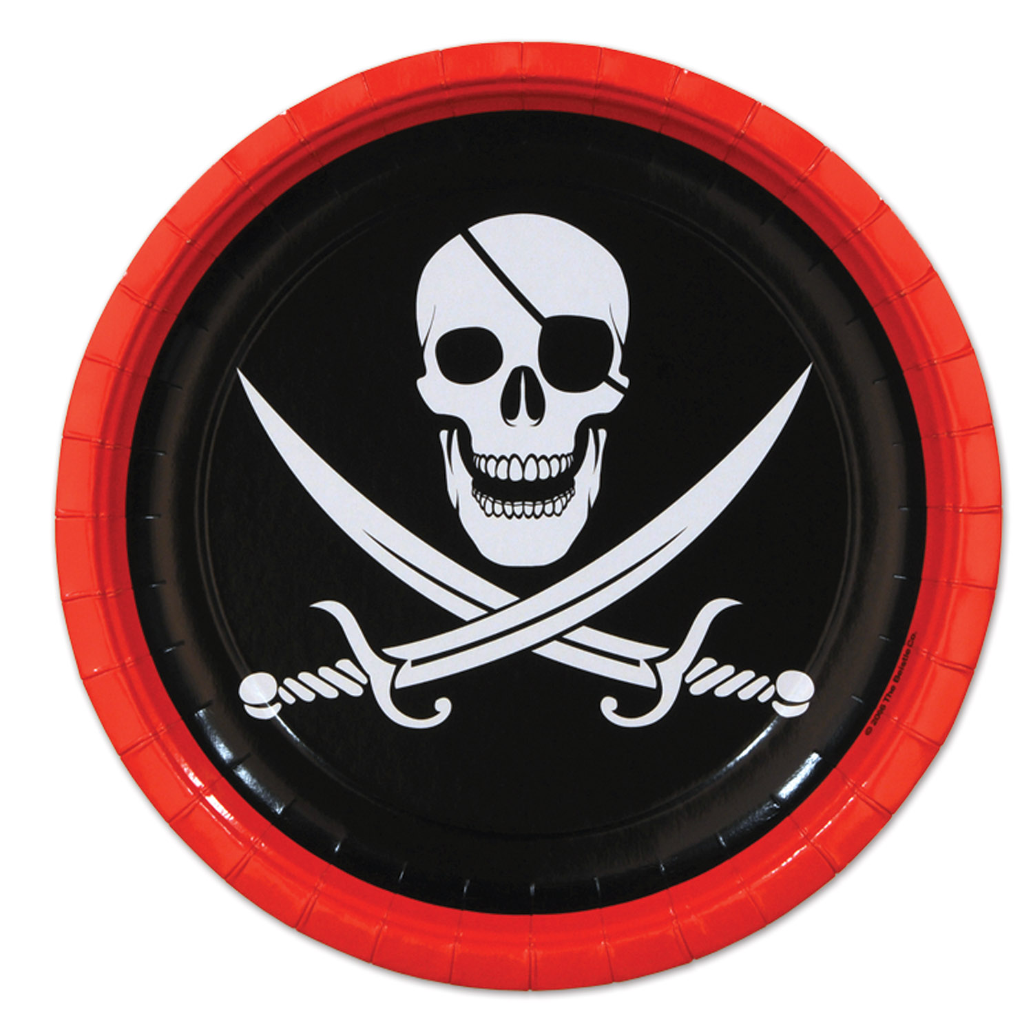 Pirate Party Paper Plates - 8 Count  sc 1 st  eBay & Pirate Party Paper Plates - 8 Count 34689580041 | eBay