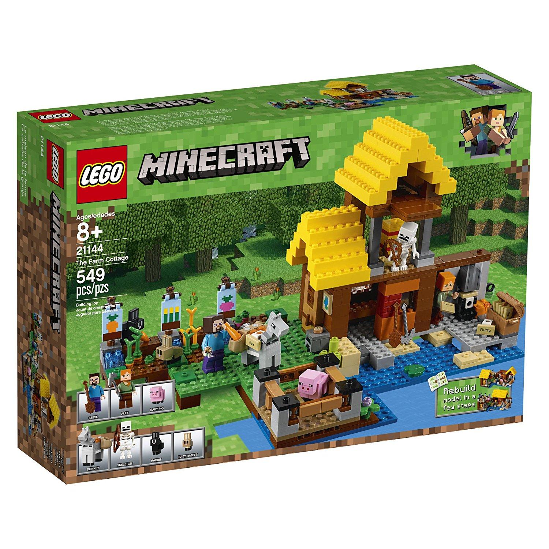 Lego minecraft 21144 the farm cottage ebay for Lego house original