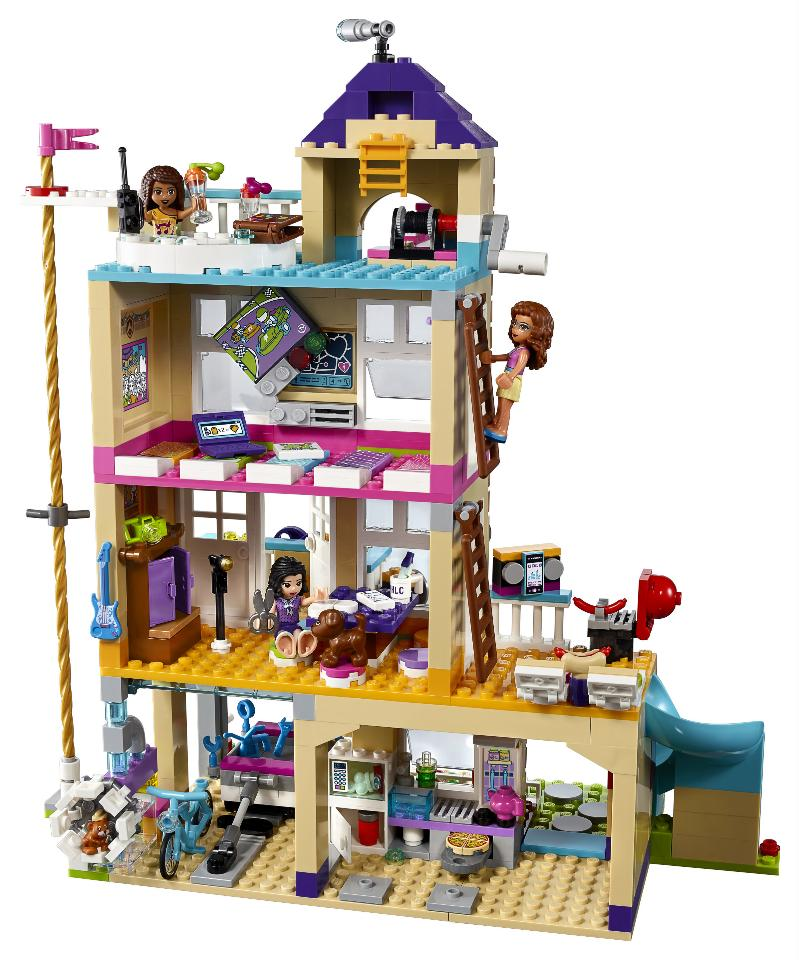 lego friends 41340 friendship house building kit 722 piece ebay. Black Bedroom Furniture Sets. Home Design Ideas