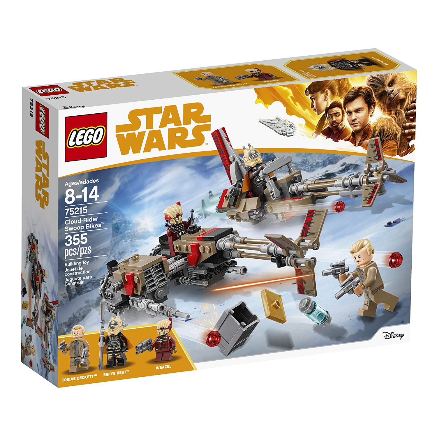 Details about LEGO Star Wars 75215 Cloud-Rider Swoop Bike Building Kit (355  Pieces)