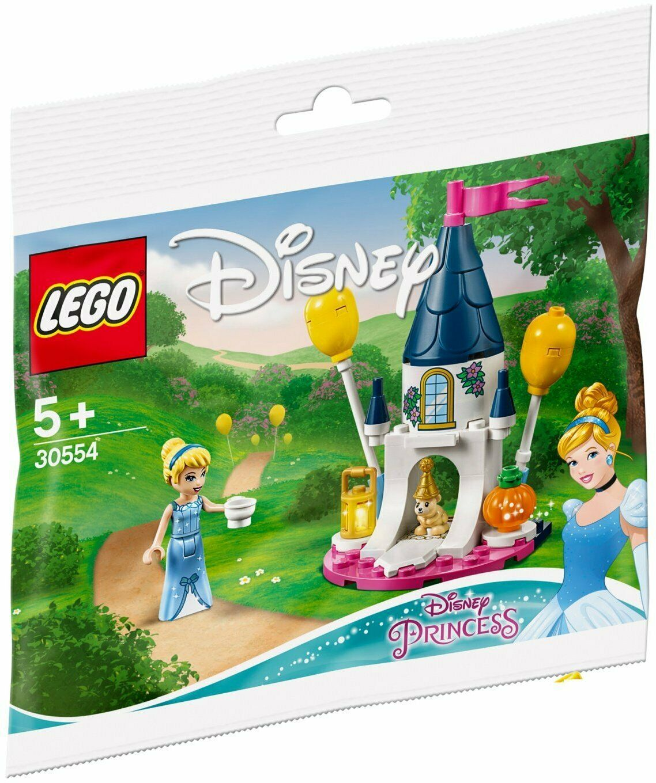 New, Sealed LEGO 30554 Disney Princess Cinderella Mini Castle