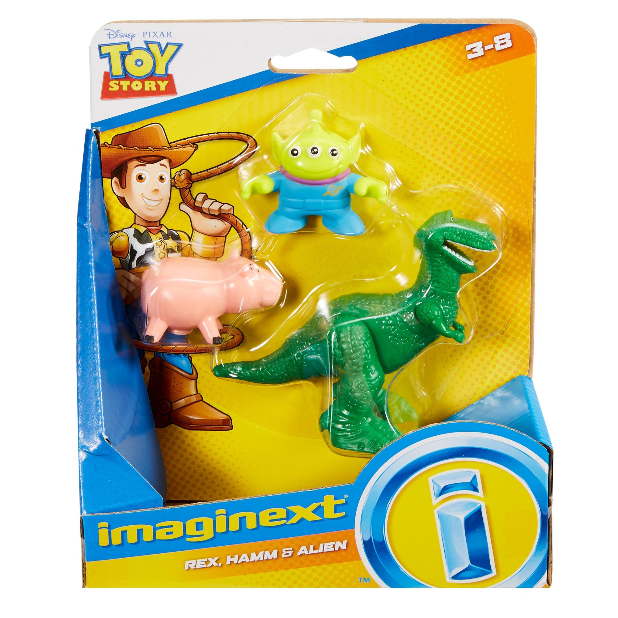 Ham /& Alien Fisher-Price Imaginext Toy Story Rex