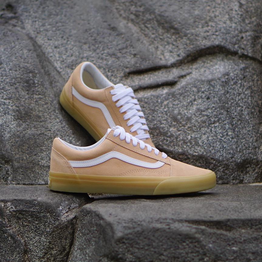Vans OLD SKOOL Double Light Gum Apricot Men s Shoes 8 - Women s 9.5 ... 2ec284f0b