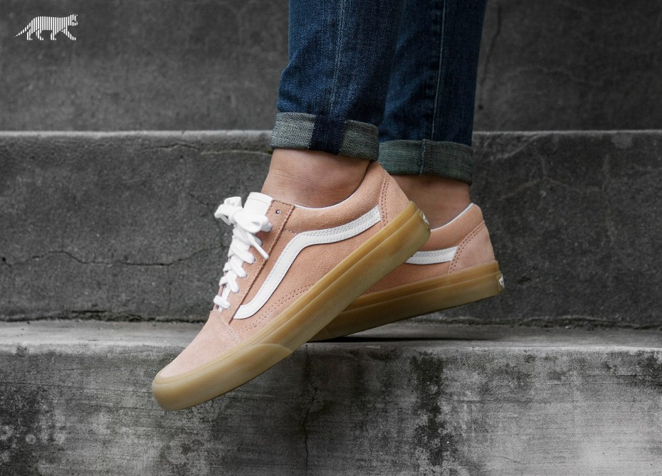 68a370d09d Vans OLD SKOOL Double Light Gum Apricot Men s Shoes 8 - Women s 9.5 ...