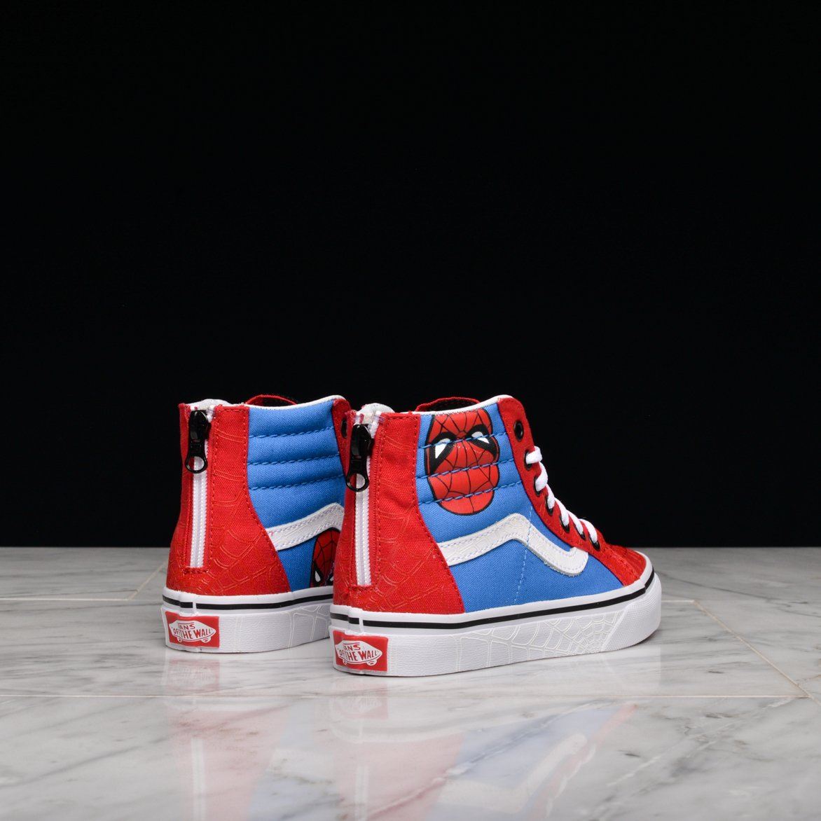 977875cb11b Vans SK8 HI ZIP Marvel Spider-Man Toddler Shoes 5 US 192360441828