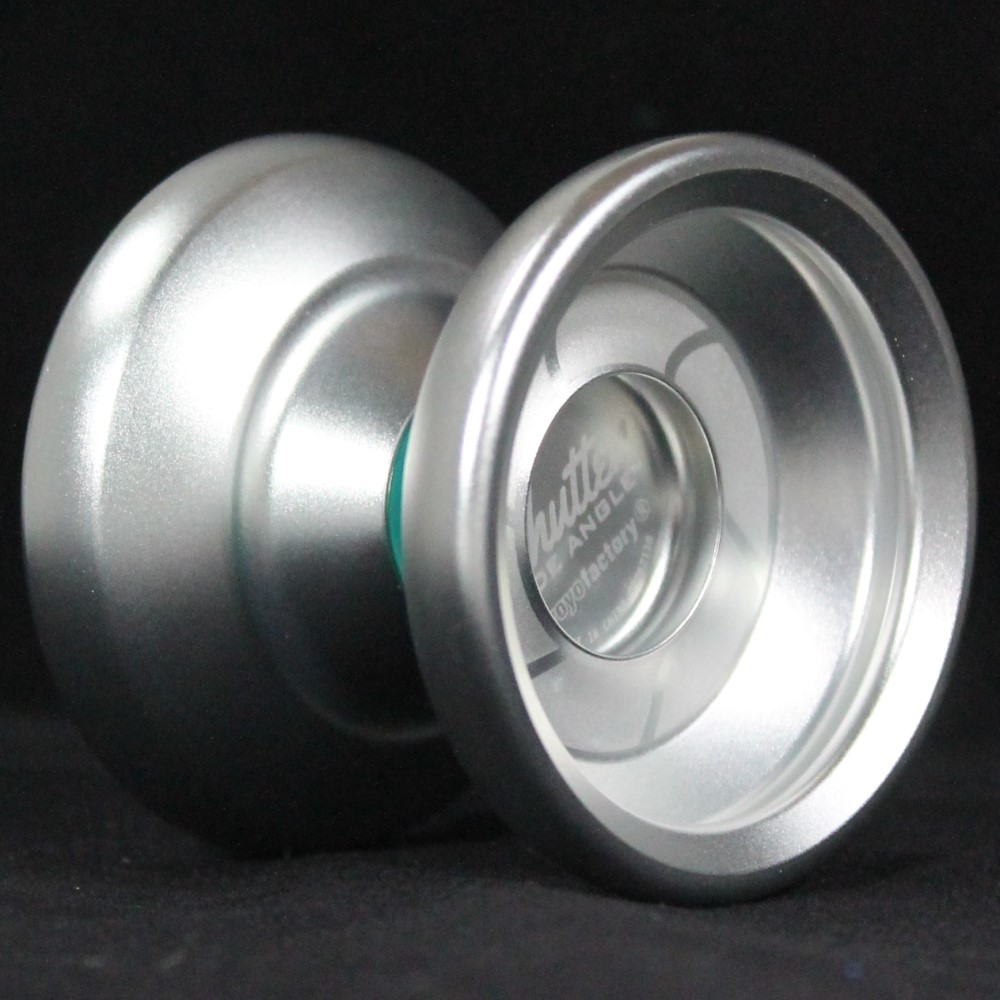 YoYoFactory Wide Angle Shutter Yo-Yo Blasted Blasted Blasted Aluminum Finish 79bc54