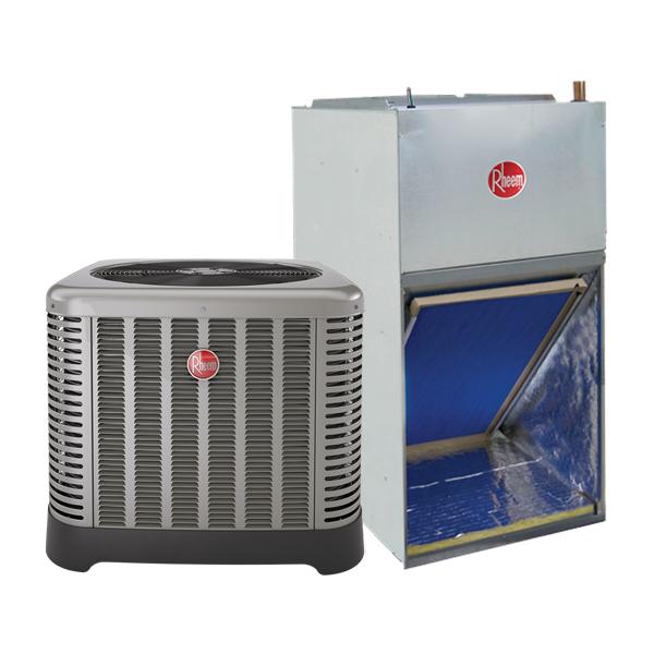2 Ton 14 Seer Rheem Ruud Heat Pump System Rp1424aj1na Rf1t2421mtanjan00417 646341739621 Ebay