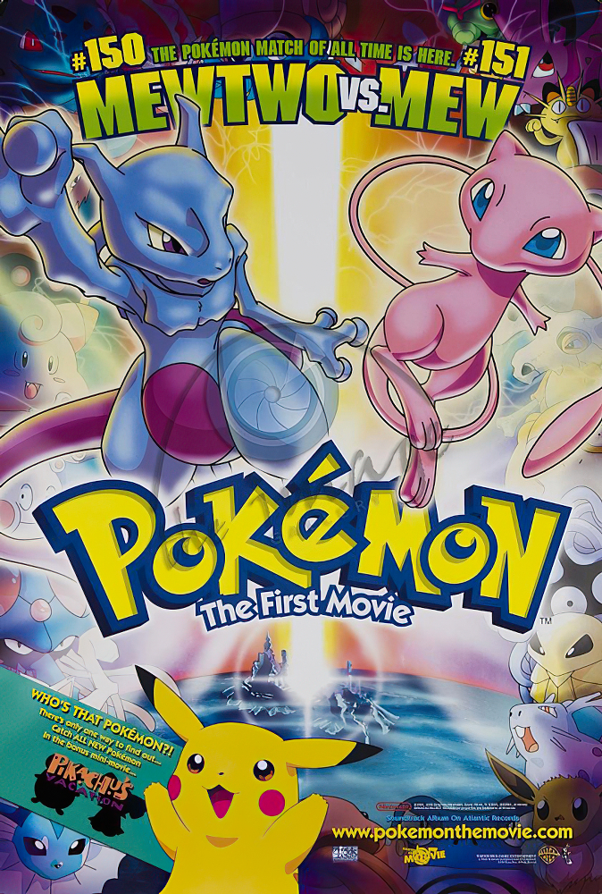 Pokemon The First Movie Classic Large Movie Poster Art Print Maxi A1 A2 A3 A4