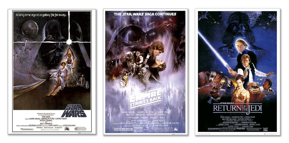 Star Wars Episode IV Movie Poster 24 x 36