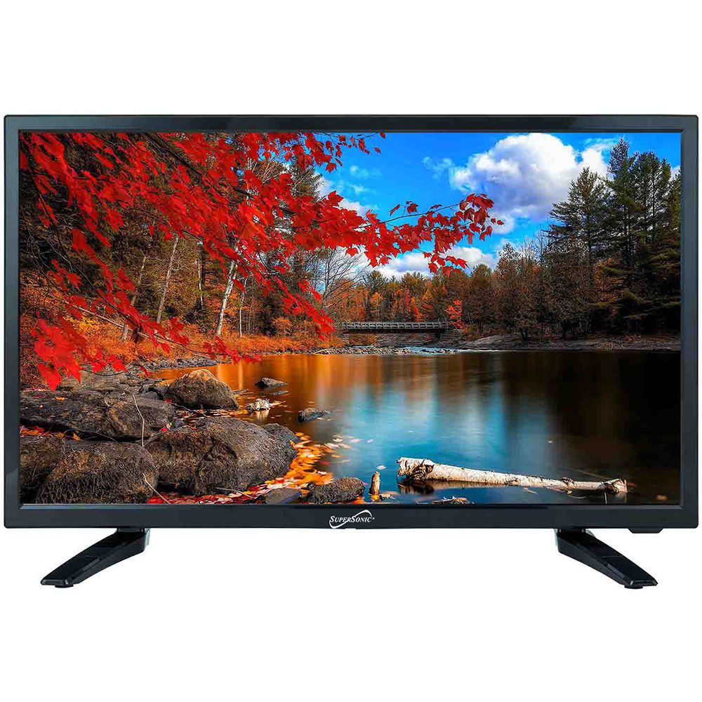 Supersonic 24-Inch 1080p LED Widescreen HDTV w/ Remote, HDMI, AC/DC Compatible