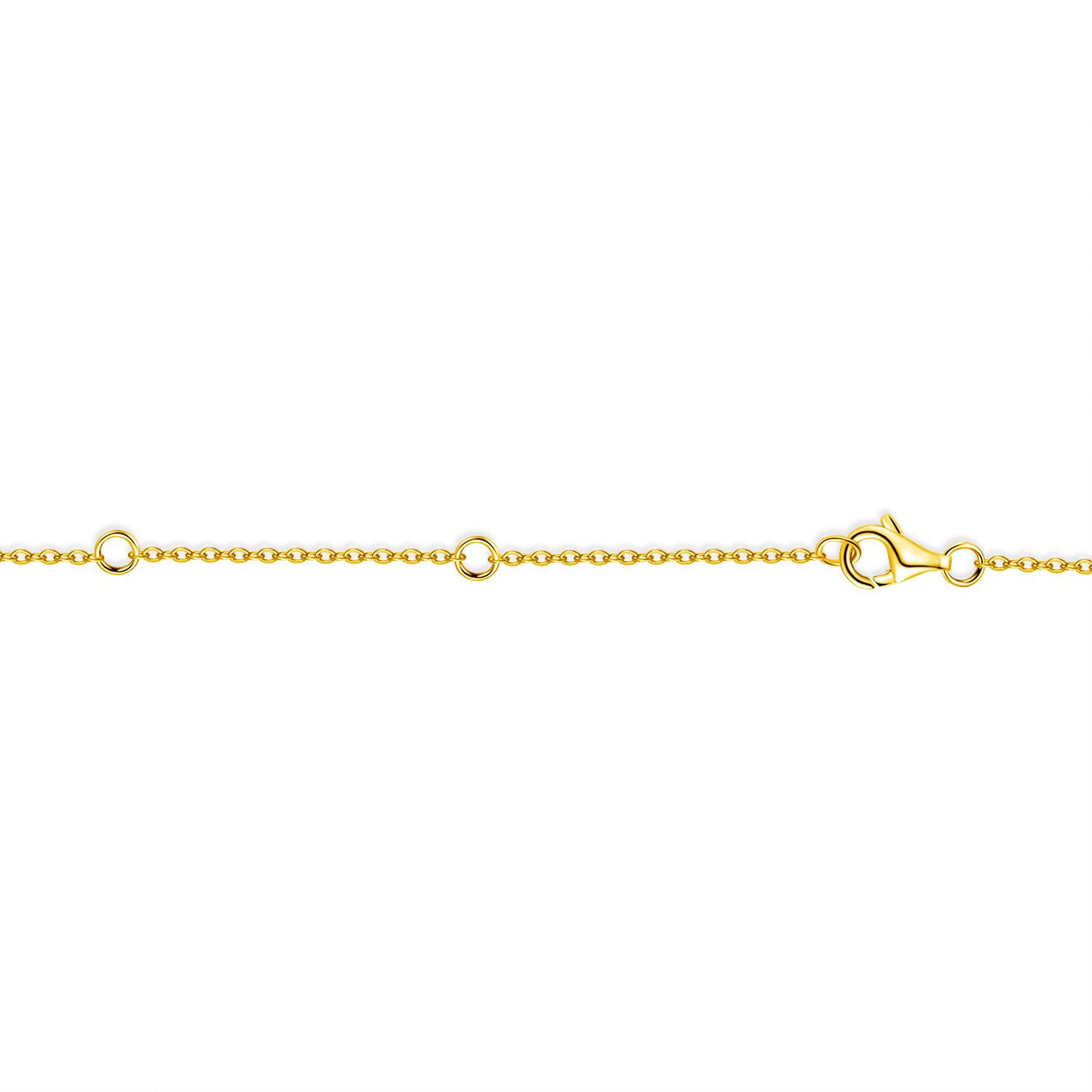 miniature 15 - 14K Gold Plated Silver Cubic Zirconia Disc Necklace Circle Pendant 12mm Diameter