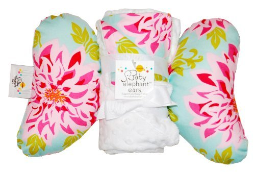 Baby Elephant Ears Head Support Pillow Amp Matching Blanket