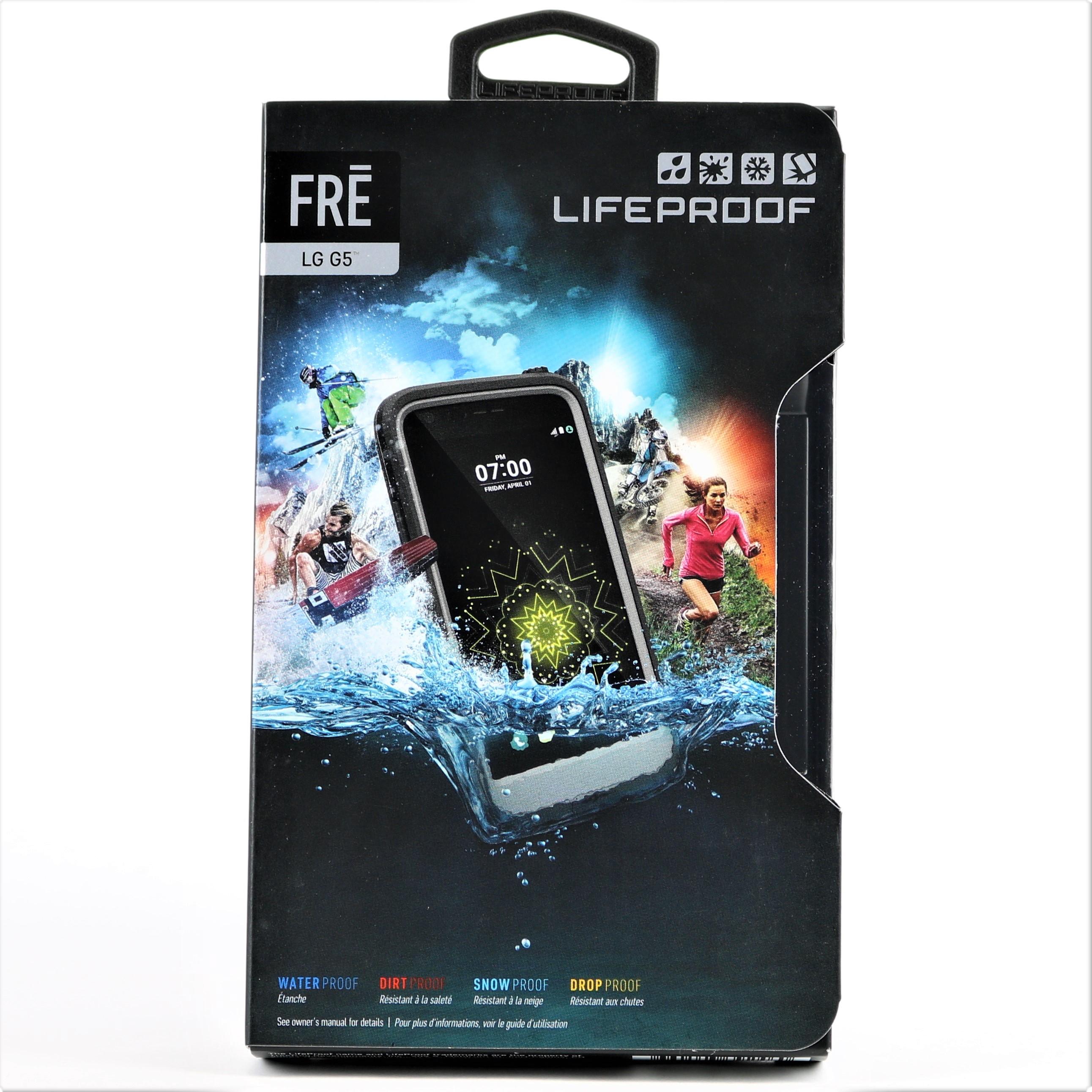 New Lifeproof Fr Series Waterproof Case For Lg G5 Black