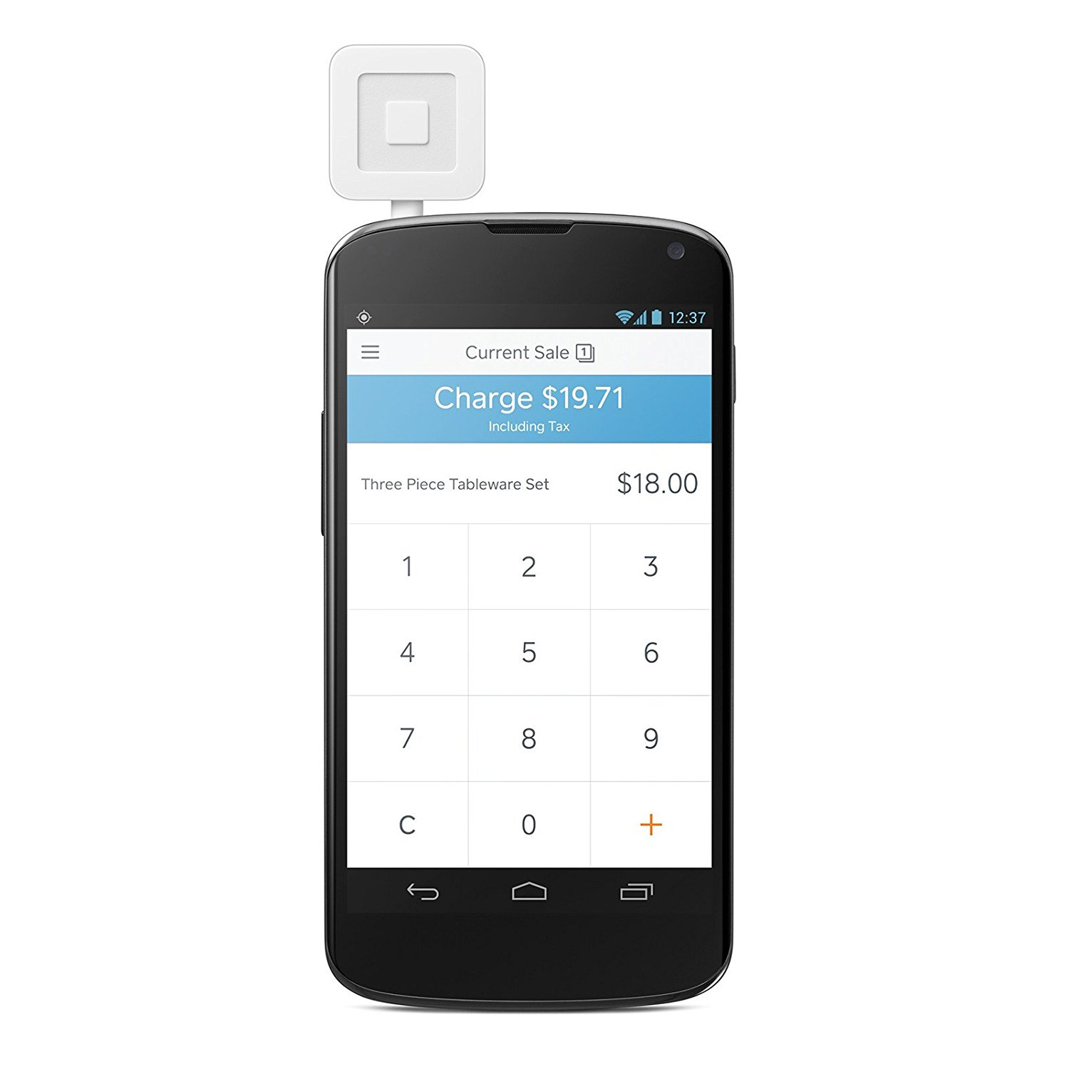 Brand New Square Credit Debit Card Reader For Apple IPhone