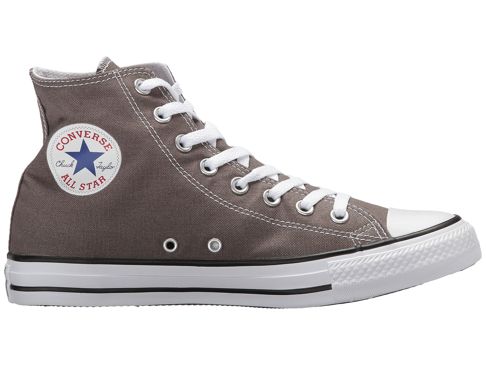 f764dabc0051 Converse CHUCK TAYLOR ALL STAR Unisex Charcoal Gray Canvas High Top Sneaker  Shoes