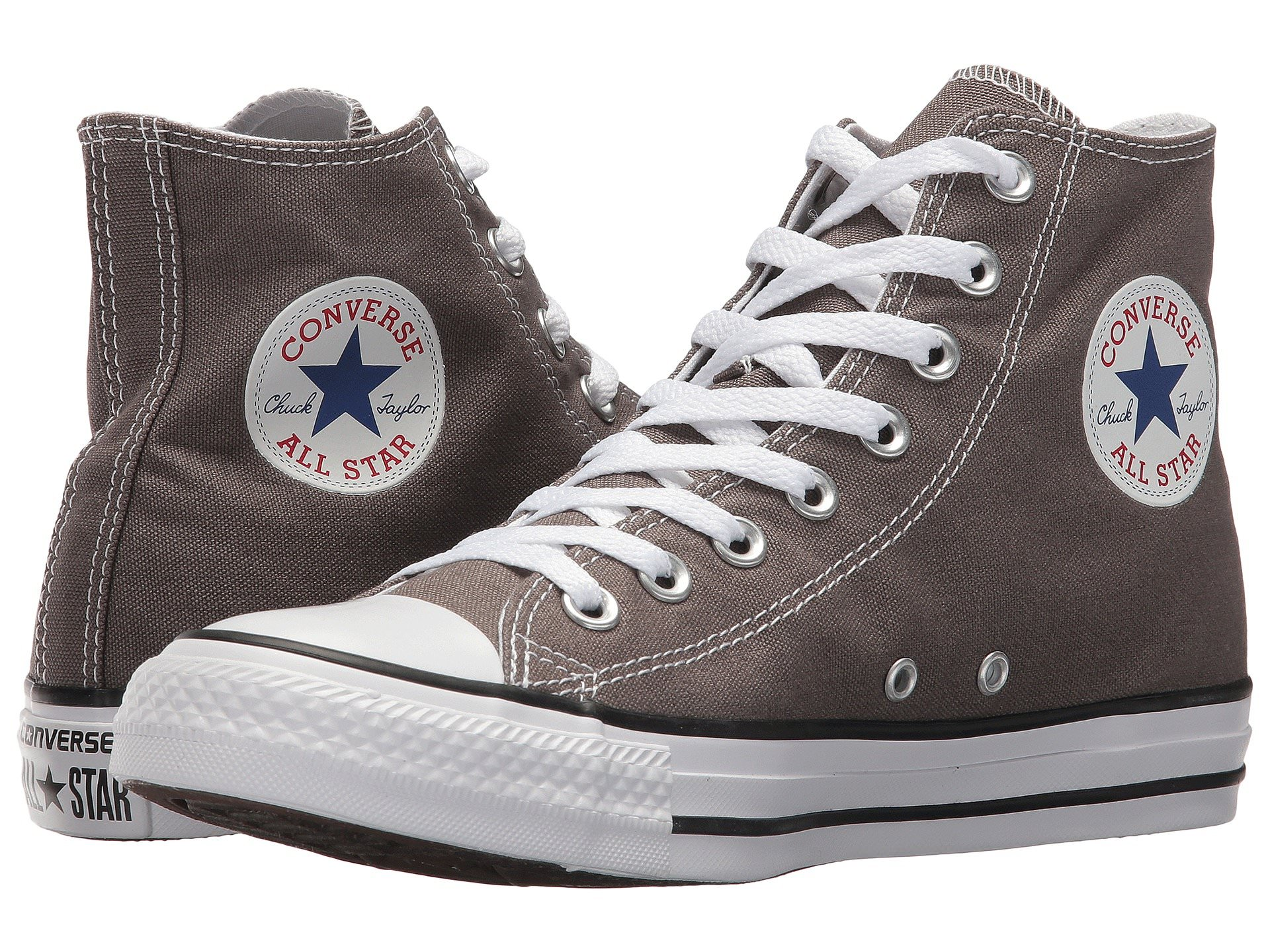 bf9107ecf8afe7 Converse CHUCK TAYLOR ALL STAR Unisex Charcoal Gray Canvas HighTop ...