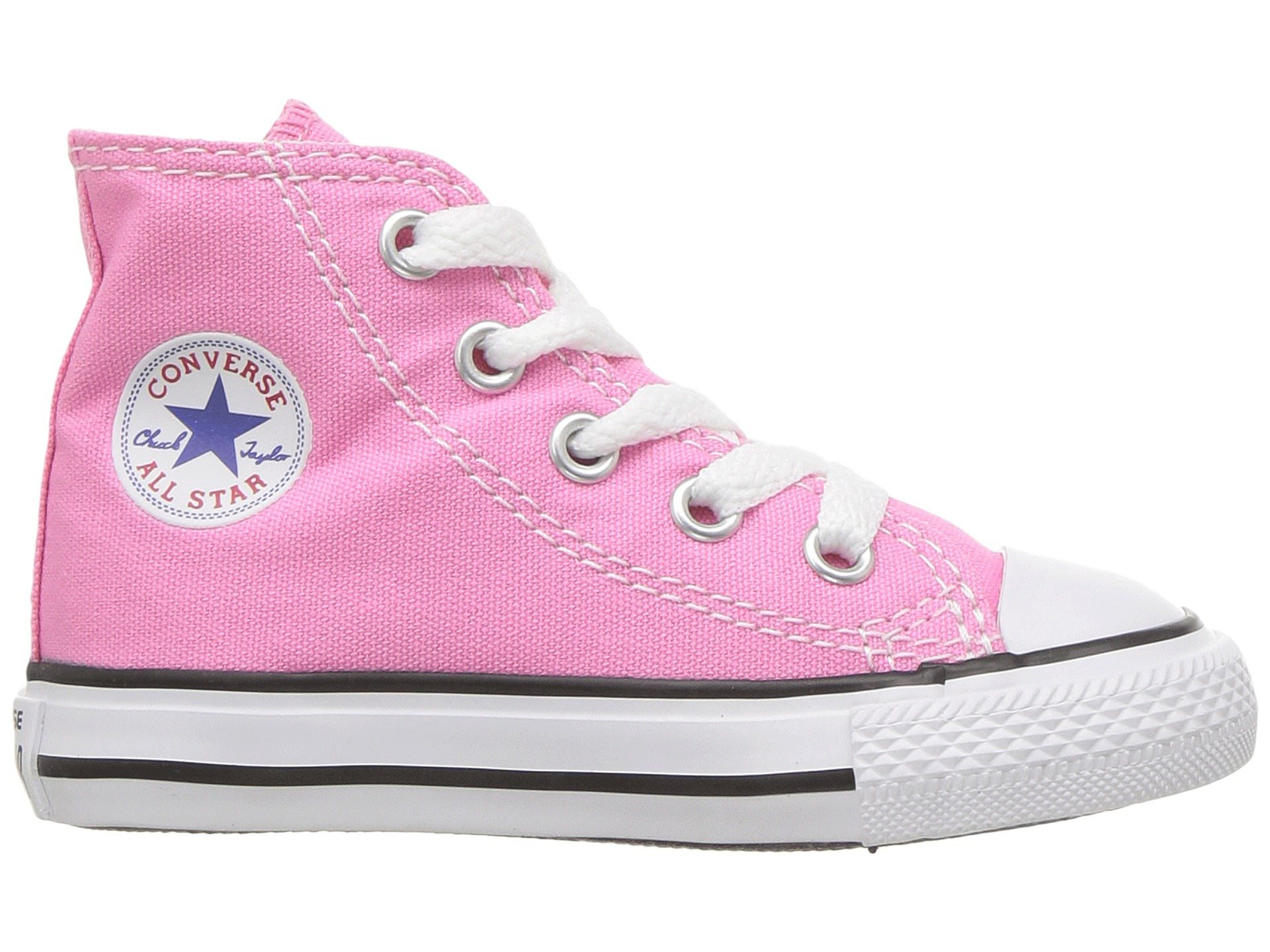 87805d1c99692b Converse CHUCK TAYLOR ALL STAR Infant Toddler Pink Canvas High Top Sneaker  Shoes
