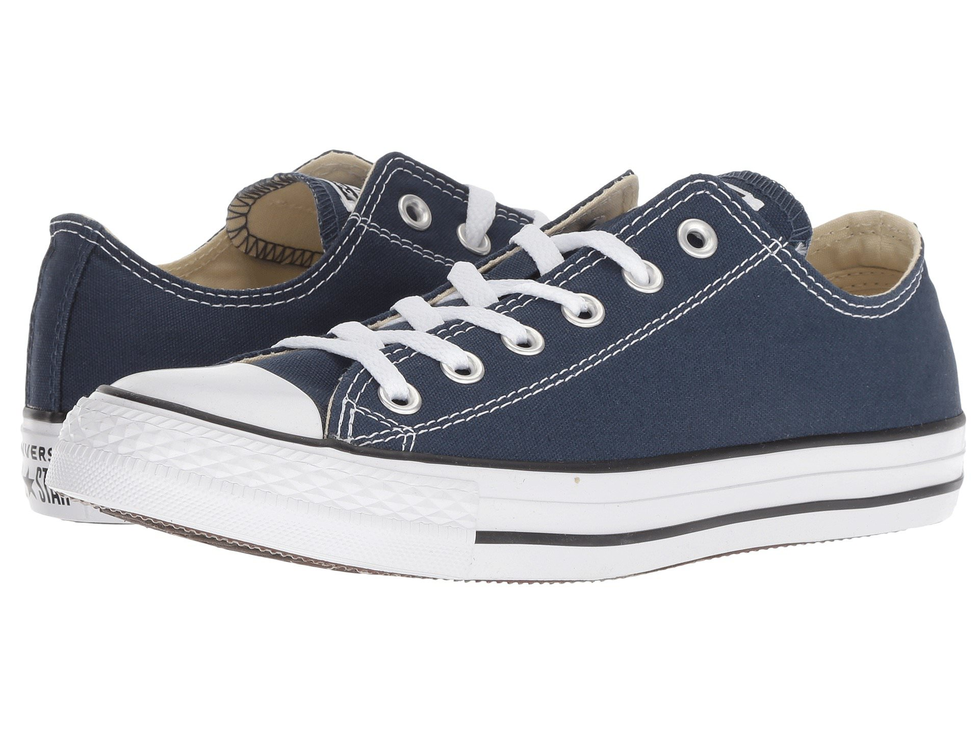 22b30190ae0 Converse CHUCK TAYLOR ALL STAR OX Unisex Navy Canvas Sneaker Shoes ...