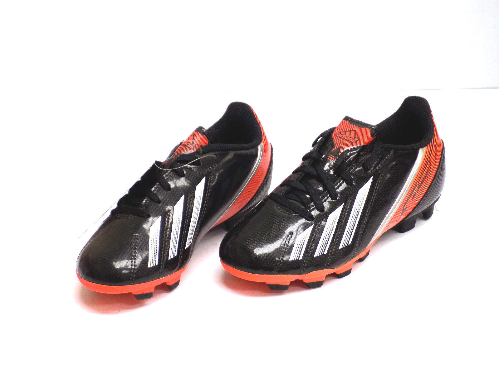 online retailer 1252e 306ef Adidas F5 TRX FG J Youth Kids Black Red Outdoor Soccer Cleat Shoes (1.5)