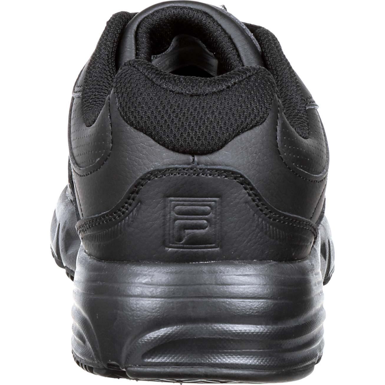 90458dd61331 Fila Men s Memory Workshift Slip Resistant Steel Toe Work Shoes