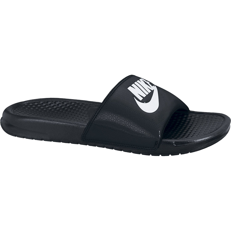 879e00fac67fd Nike BENASSI JDI Mens Black Slip On Slides Sandals 884751712043