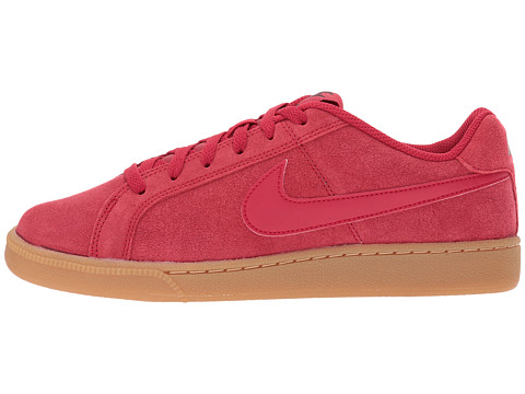 df76cfc0927291 Nike Court Royale Suede Mens Red Athletic Sneakers Shoes Size 7