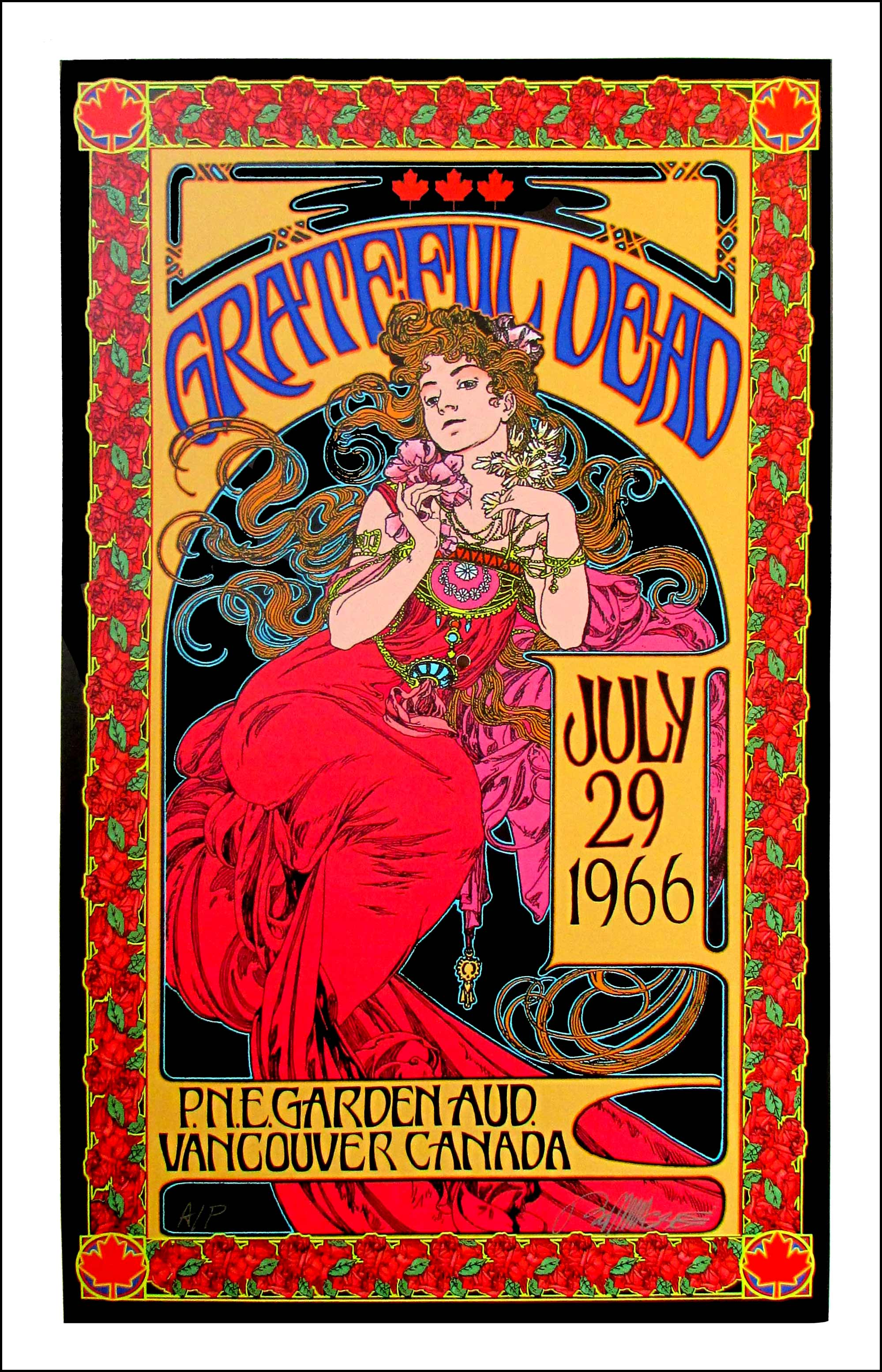 Grateful Dead Poster July 1966/2016 Record Store Day Edition AP ...