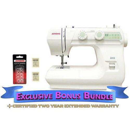 Janome 40 Sewing Machine Includes Exclusive Bonus Bundle EBay Fascinating Janome Sewing Machine 2212