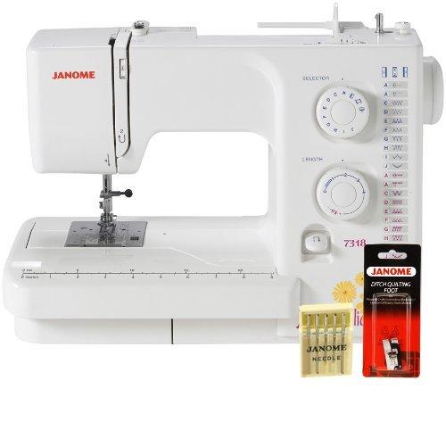 Janome Magnolia 40 Sewing Machine W FREE BONUS Package Enchanting Janome Magnolia 7318 Sewing Machine