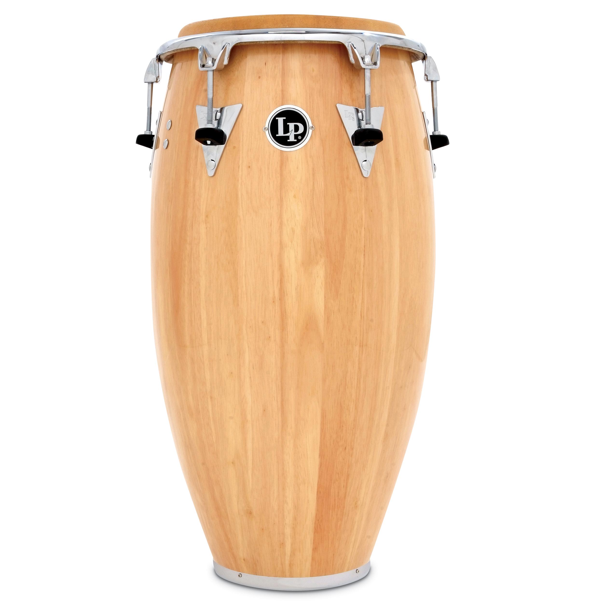 Latin Percussion LP Classic Model Wood 12-1//2 Tumbadora Red //Chrome