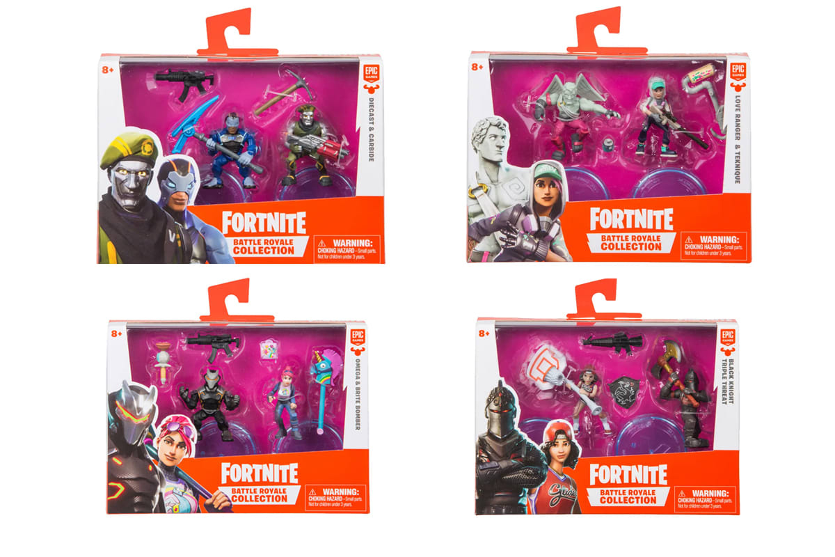 Fortnite Battle Royale Collection: Duo 2-Figure Pack with Accessories