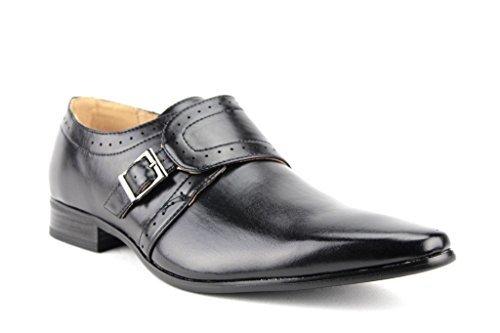Men Dress Shoes Crocodile Print Loafers Formal Pointy Black Brown Eway8