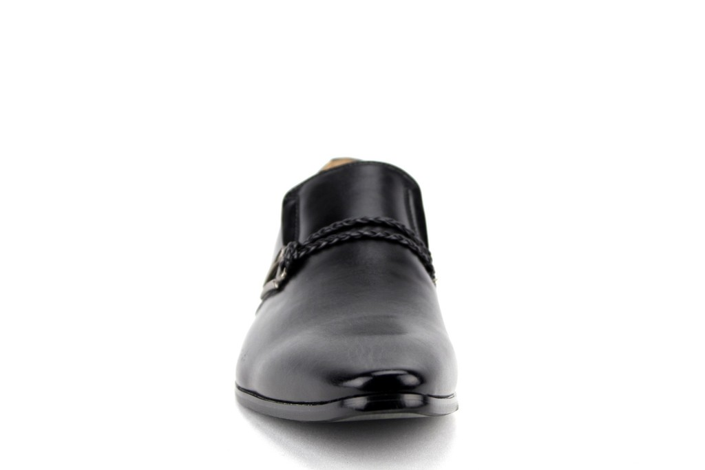 New-Men-039-s-98105-Classic-Slip-On-Pointy-Toe-Belted-Casual-Loafers-Dress-Shoes thumbnail 23