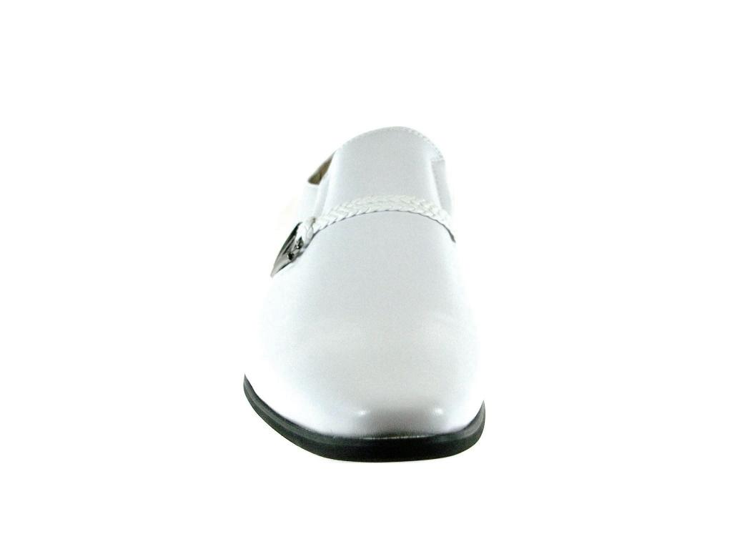 New-Men-039-s-98105-Classic-Slip-On-Pointy-Toe-Belted-Casual-Loafers-Dress-Shoes thumbnail 11