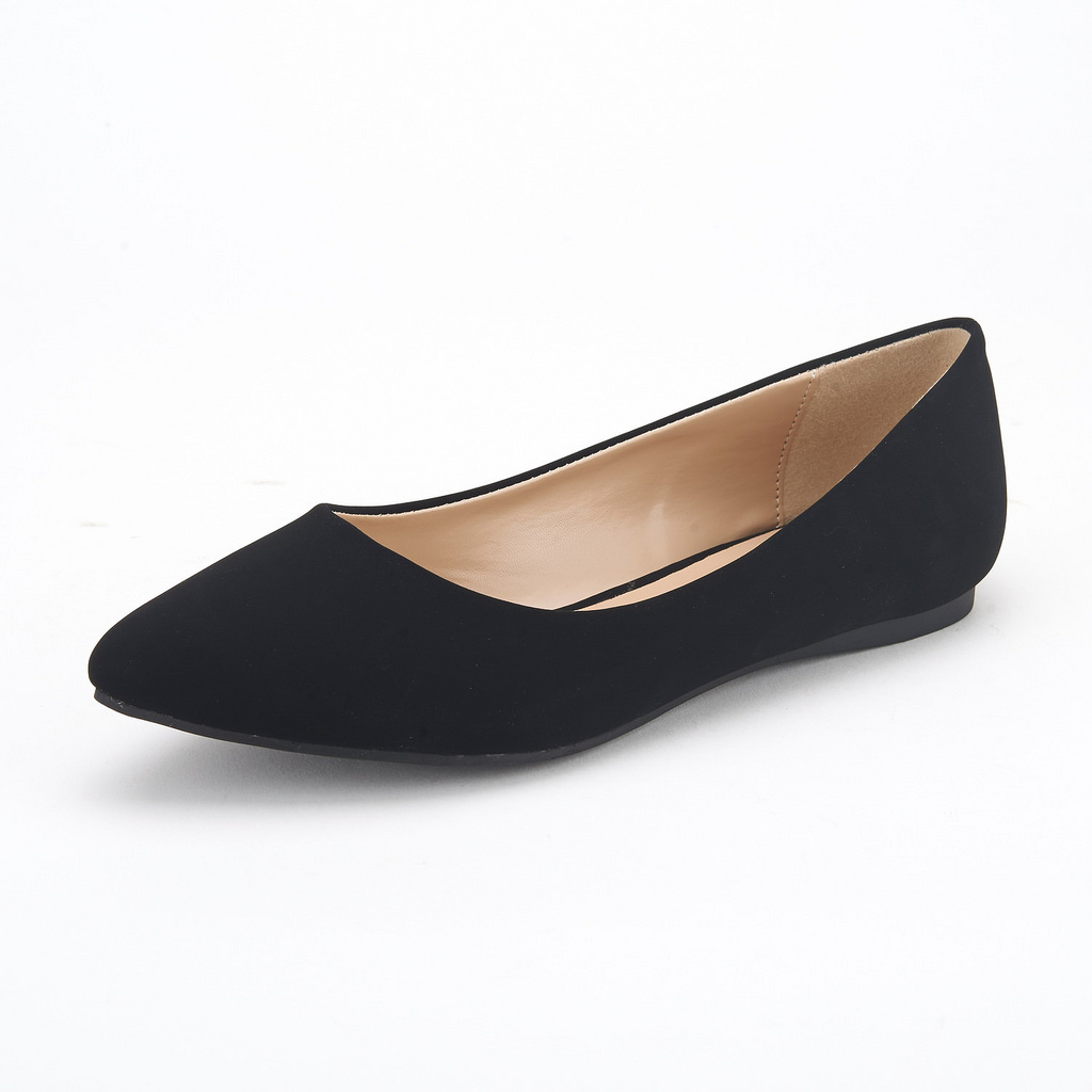 671aaeda2ec2 Details about DREAM PAIRS SOLE-CLASSIC Womens Casual Pointed Toe Ballet  Slip On Flats Shoes
