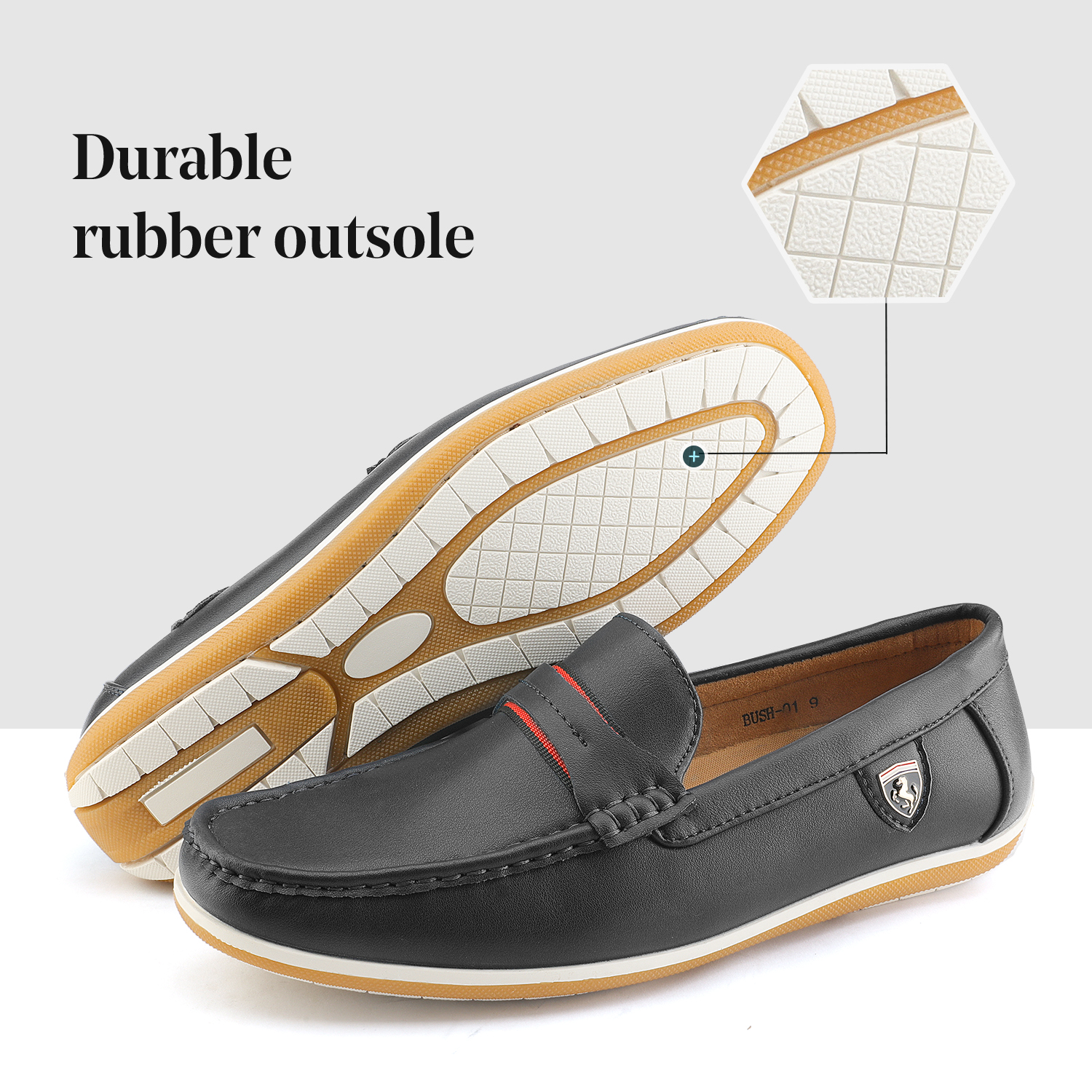 Bruno-Marc-Men-039-s-Casual-Loafers-Lightweight-Moccasins-Lazy-Driving-Soft-Shoes thumbnail 10