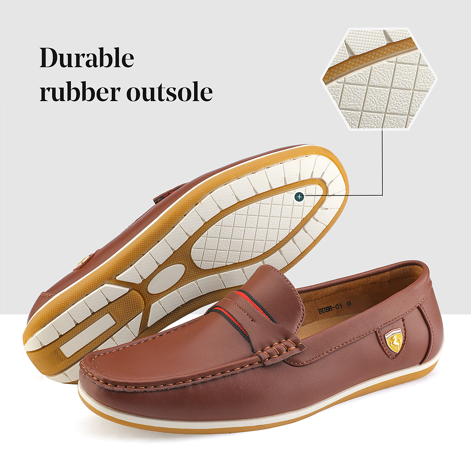 Bruno-Marc-Men-039-s-Casual-Loafers-Lightweight-Moccasins-Lazy-Driving-Soft-Shoes thumbnail 16