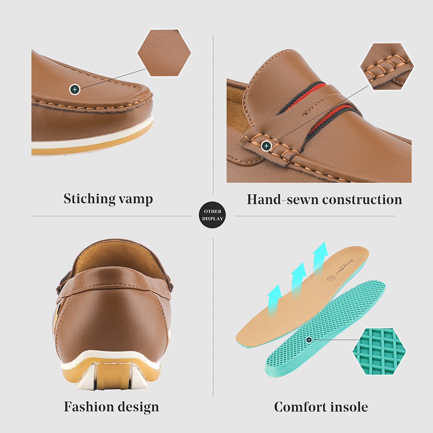 Bruno-Marc-Men-039-s-Casual-Loafers-Lightweight-Moccasins-Lazy-Driving-Soft-Shoes thumbnail 20