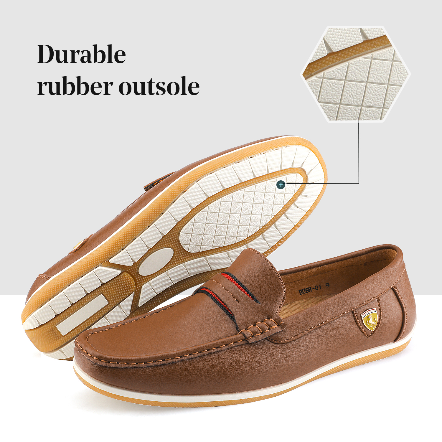 Bruno-Marc-Men-039-s-Casual-Loafers-Lightweight-Moccasins-Lazy-Driving-Soft-Shoes thumbnail 22